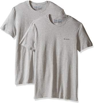 Columbia Men's 2-Pack Performance Cotton Stretch Crew Neck T-Shirt