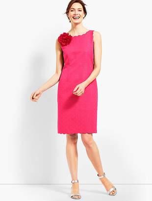Talbots Jacquard Sheath Dress