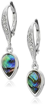 "Judith Jack ""Abalone Enchantment"" Sterling Silver Abalone Drop Earrings $35.20 thestylecure.com"