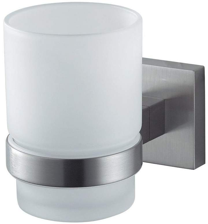 Haceka Mezzo Tec Glass Holder - Chrome