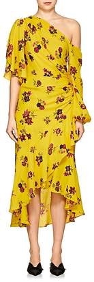 A.L.C. Women's Florence Floral Silk Dress