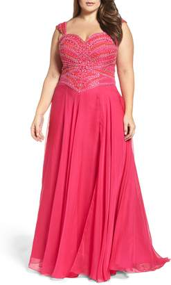Mac Duggal Embellished Gown