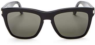 Saint Laurent Women's Devon Oversized Square Sunglasses, 55mm