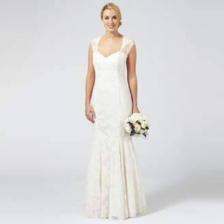 Ben de Lisi Occasion - Ivory Embroidered 'Lorelei' Wedding Dress