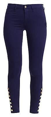 L'Agence Women's Piper High-Rise Skinny Pants