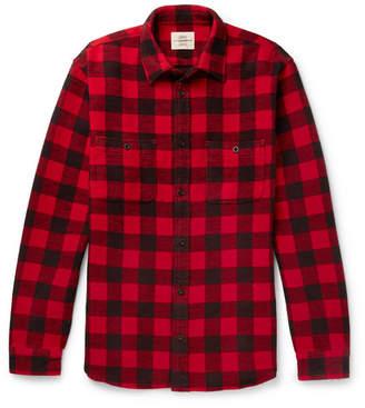 Kent & Curwen Checked Cotton-Flannel Shirt