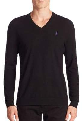 Polo Ralph Lauren Slim-Fit V-Neck Sweater