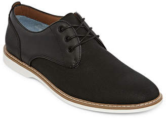 30ceff02537c Jf J.Ferrar Mens Jf Reeves Lace-up Round Toe Oxford Shoes