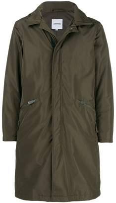 Aspesi zip pocket hooded coat