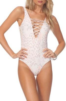 Women's Rip Curl Animalia One-Piece Swimsuit $79.50 thestylecure.com