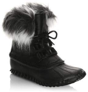 Sorel Out N About Leather & Faux-Fur Boots