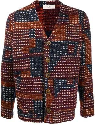 Séfr Gote patchwork cardigan