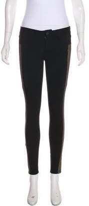 Paige Denim Mid-Rise Skinny Pants