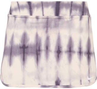 Nike Pure Tie-dyed Dri-fit Tennis Skirt - Lilac