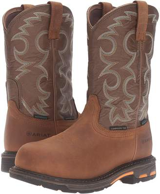 Ariat Workhog Pull-On CT WP Women's Work Boots