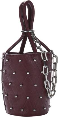 Alexander Wang Roxy Beet Stud Mini Bucket Bag $595 thestylecure.com