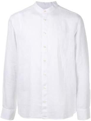 120% Lino long sleeved grandad shirt