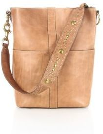 Frye Ilana Studded Leather Hobo Bag $598 thestylecure.com
