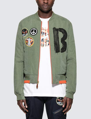 Billionaire Boys Club Four Leaf Reversible Bomber Jacket