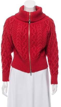 Self-Portrait Heavy Weight Cable knit Cardigan