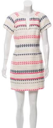 Trina Turk Woven Short Sleeve Dress