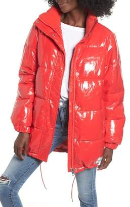 Calvin Klein Jeans Glossy Puffer Jacket