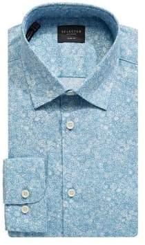 Selected Pheonix Slim Fit Floral Dress Shirt