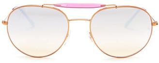Ray-Ban Women's Aviator Sunglasses $185 thestylecure.com