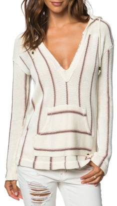 Women's O'Neill Ash Hooded Sweater $64 thestylecure.com