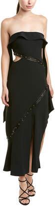 Jonathan Simkhai Johnathan Simkhai Asymmetric Midi Dress