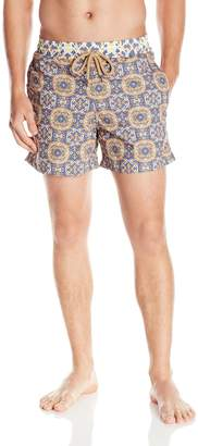 Maaji Men's 5 Mosaic Print Swim Trunk