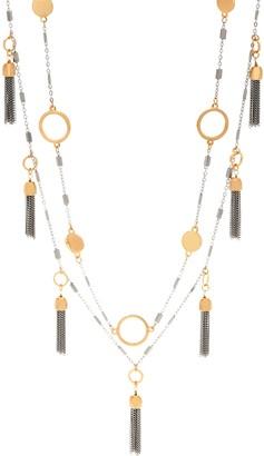 Belle By Kim Gravel Belle by Kim Gravel EmBELLEish Metallic Tassel Necklace