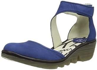 Fly London Piat Women's Ankle Strap Pump Shoes -(39 EU)