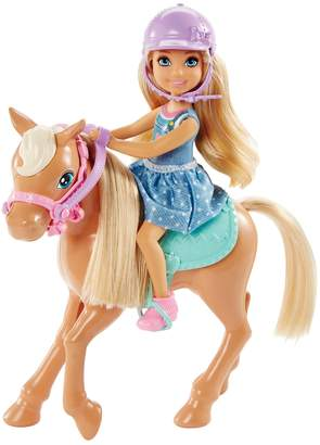 Barbie Club Chelsea Doll & Horse Set