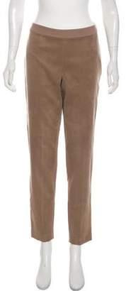 Magaschoni Microsuede Skinny Pants