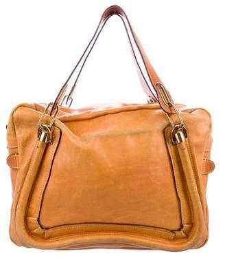 Chloé Leather Paraty Handle Bag