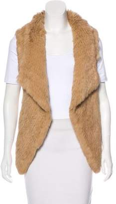 Yves Salomon Fur Open Front Vest
