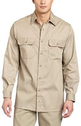 Carhartt Men's Twill Long Sleeve Work Shirt Button Front S224
