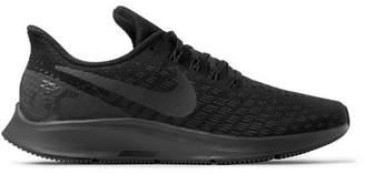 Nike Running - Air Zoom Pegasus 35 Mesh Running Sneakers - Men - Black