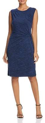 Nic+Zoe Space-Dye Twist Waist Dress