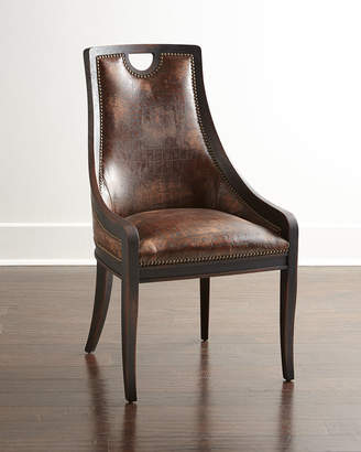 Old Hickory Tannery Cinda Leather Dining Chair