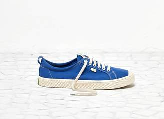 Cariuma OCA Low Washed Blue Contrast Thread Canvas Sneaker Women