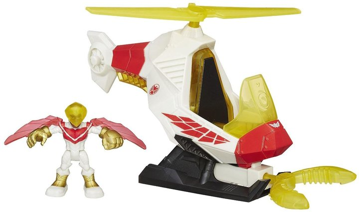 Playskool Heroes Talon Copter With Marvels Falcon
