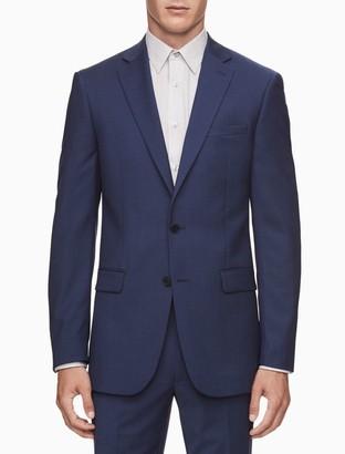 Calvin Klein x fit ultra slim fit blue suit jacket
