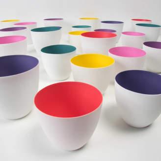 all things Brighton beautiful Porcelain Coloured Tea Light Holder