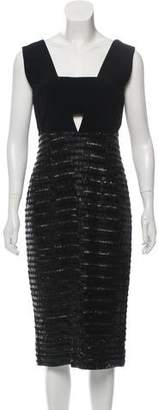 Burberry Embellished Silk Dress w/ Tags