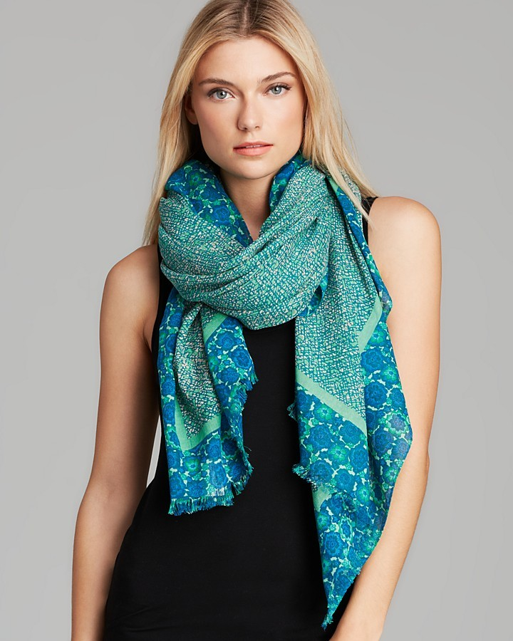 Marc by Marc Jacobs Karoo Floral Scarf