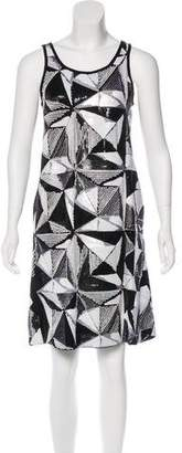 Fendi Sequin Shift Dress w/ Tags
