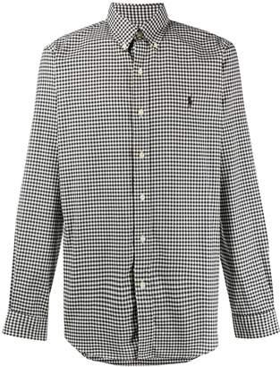 Polo Ralph Lauren gingham button front shirt