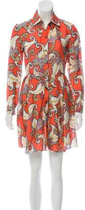 Thakoon Linen Mini Dress